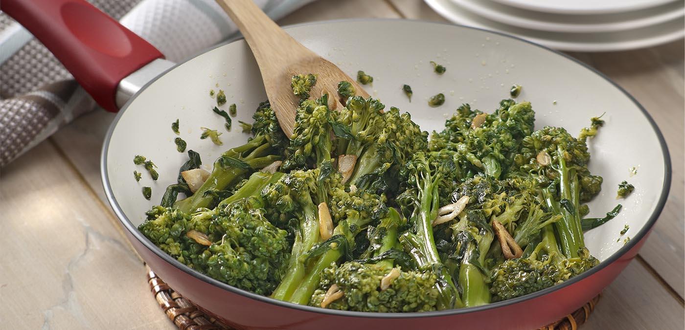 Brócolis ao Alho e Óleo