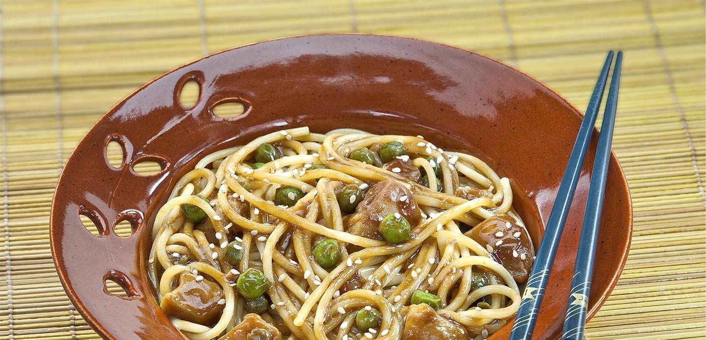 Foto de Espaguete ao Molho Oriental