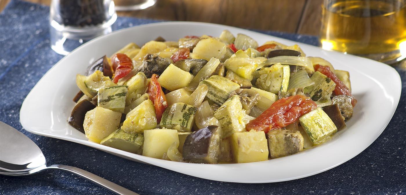 legumes assados à italiana