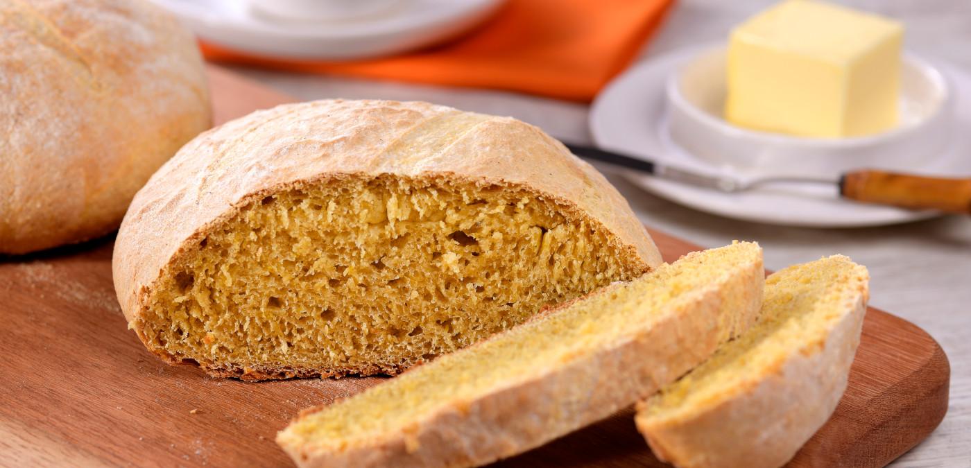 pão caseiro rústico