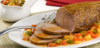 carne de panela ao molho vermelho