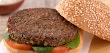 O Hambúrguer de Lentilha é uma ótima opção vegetariana das Receitas com Lentilhas