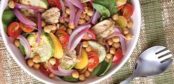 receita de salada completa de sardinha