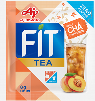 FIT TEA CHÁ COM PÊSSEGO