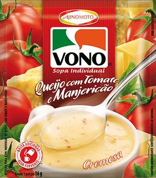 VONO® Queijo com Tomate e Manjericão
