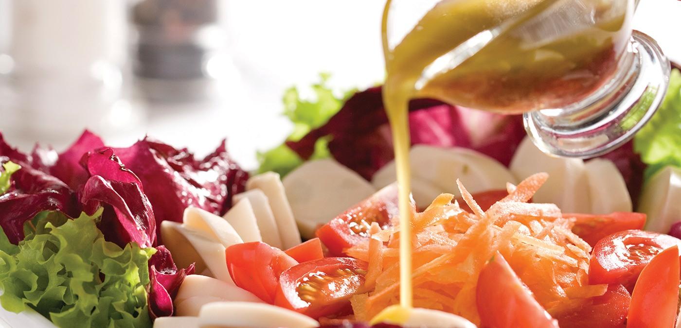 Prato de salada Sofisticada